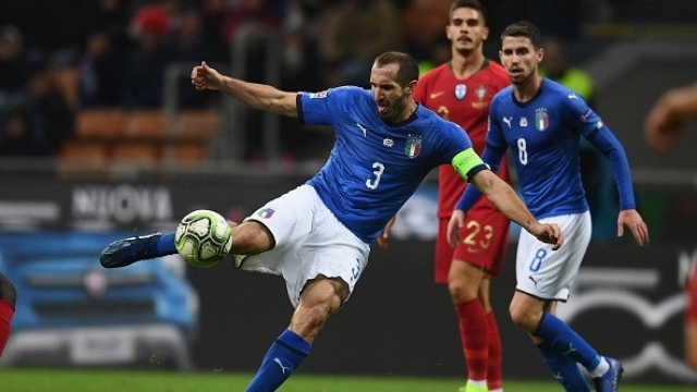 """Italy takes Portugal not into the Polish League Chelyabina made a new entry """"data caption ="""" of Italy to Portugal, so as not to enter. Polish League break """"Chiellini"""" made another record. """"/> </figure> <h2>Italy equalized, but the ball could not be beat. As a result, the match was 0-0 UEFA Champions League on Saturday evening, November 17 back, League of Portugal 3 wins the group, despite the remaining one game with Poland. In the autumn, to play in the B-League, this game, Giorgio Chiellini, captain Azzurri, made a record 100 players for the national team. He became the seventh player in the history of Italy.</h2> <p>Field: Giuseppe Miaz</p> <p>        Italy will play as the final game at the opening of the home of the """"crowd"""" of the Portuguese league 3 league, playing as match 3. </p> <p>        Azzurri has just won the first game after the recent invasion of Poland 1-0. In this match, Roberto Mancini has three strong offensive lines, Federico Chiesa, Shiro. IMMOBILE and LORENZO INSENAL</p> <p>        While Fausto Santo Santos trained well, even without Cristiano Ronaldo, to play in the League of Nations tournament. But the result is excellent after winning two games. The offensive line was introduced by Brooke, coordinated by Andrei Silva and Bernardo Silva.</p> <p style="""